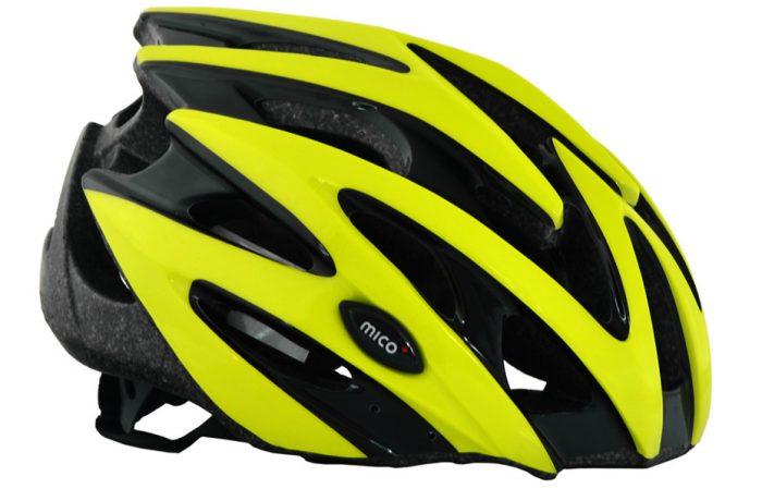 Kask MICO MV29 black-lemon