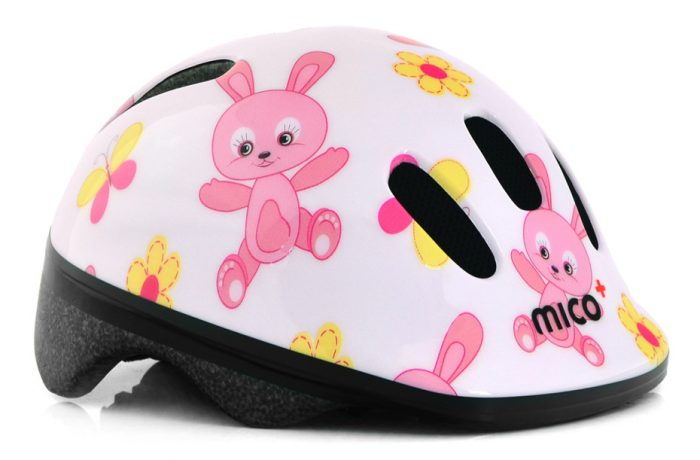 Kask na Rower Mico Rabbits